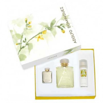 Adolfo Domínguez Set AZAHAR Eau de toilette Spray 100 ml + Deodorant 50 ml + Mini Eau de toilette 7 ml