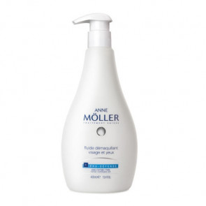 Anne Möller CLEAN UP PRO-DEFENSE Face and Eyes Makeup Remover Fluid 400 ml