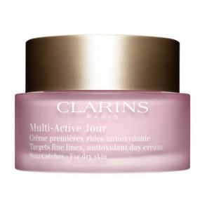 Clarins MULTI-ACTIVE JOUR Crème premières rides antioxydante Peaux sèches 50 ml